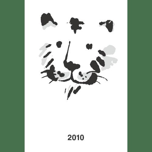 寅年2010年賀状のデザイン13