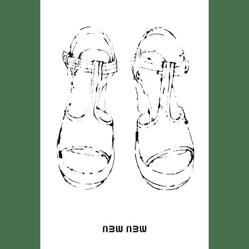 巳年2013年賀状のデザイン13-4