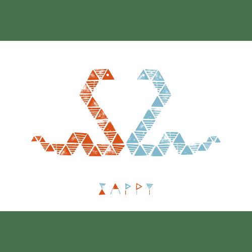 巳年2013年賀状のデザイン28-2