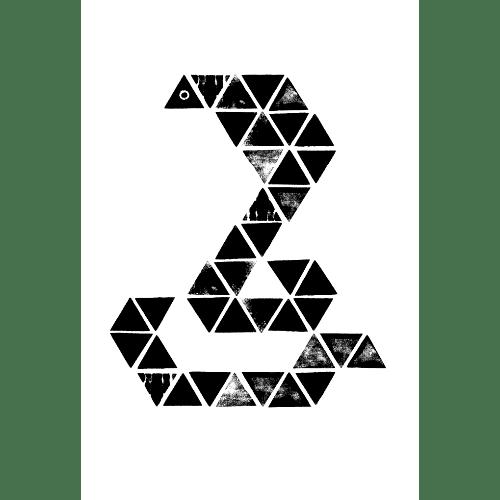 巳年2013年賀状のデザイン31-2