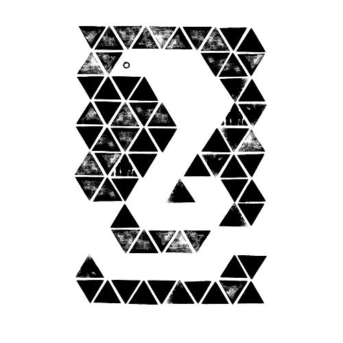 巳年2013年賀状のデザイン31-3
