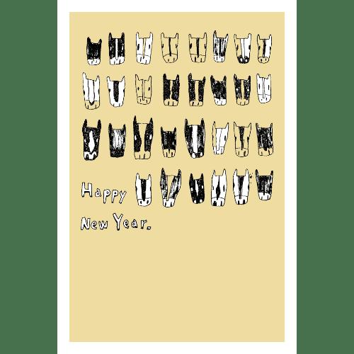 午年2014年賀状のデザイン15-1
