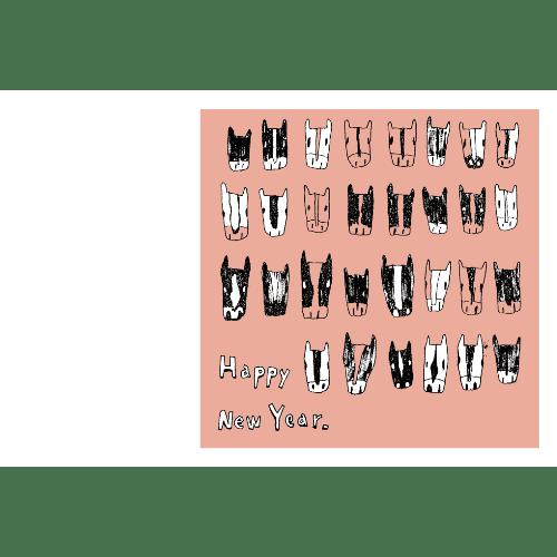 午年2014年賀状のデザイン16-2