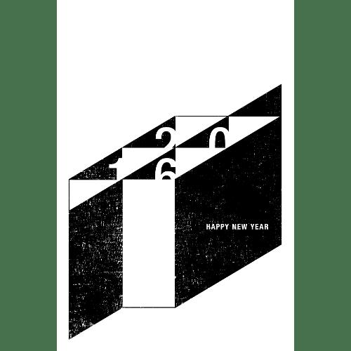 申年2016年賀状のデザイン21-4