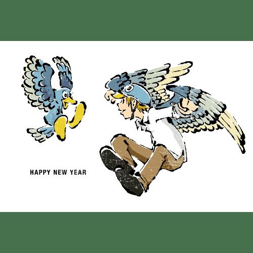 酉年2017年賀状のデザイン11-1