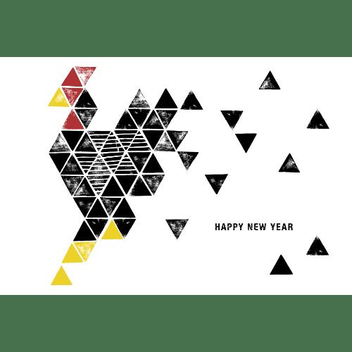 酉年2017年賀状のデザイン14-2