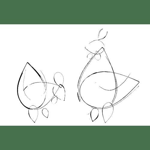 酉年2017年賀状のデザイン19-4