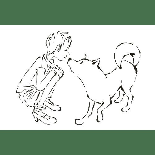 戌年2018年賀状のデザイン09-3