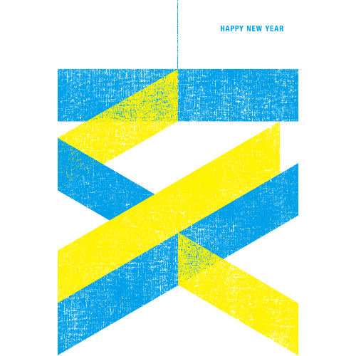 亥年2019年賀状のデザイン14-1