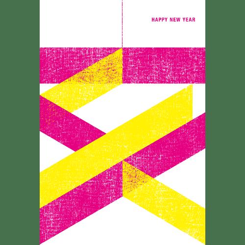 亥年2019年賀状のデザイン14-2
