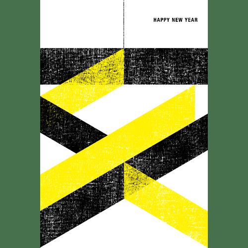亥年2019年賀状のデザイン14-3