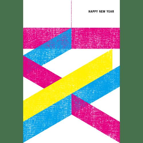亥年2019年賀状のデザイン14-4