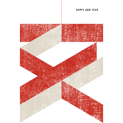 亥年2019年賀状のデザイン15-1