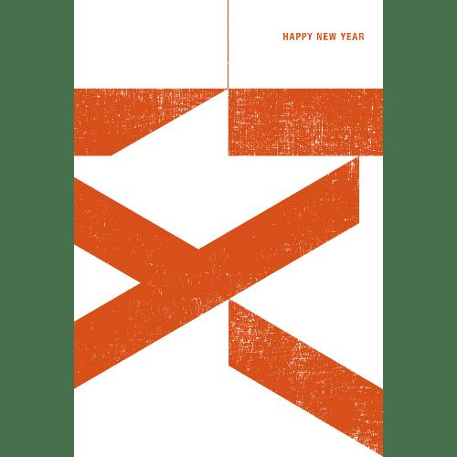 亥年2019年賀状のデザイン15-3