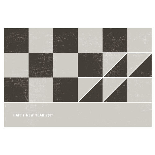 丑年2021年賀状のデザイン06-4
