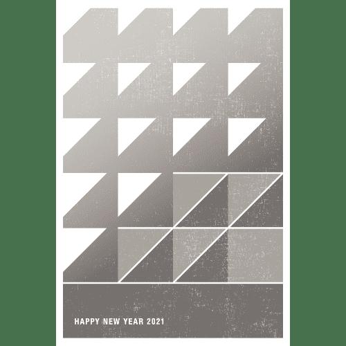 丑年2021年賀状のデザイン07-2