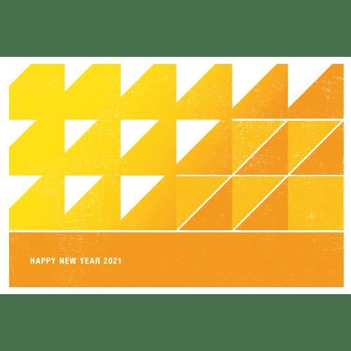 丑年2021年賀状のデザイン07-3
