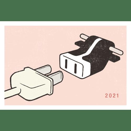 丑年2021年賀状のデザイン08-1