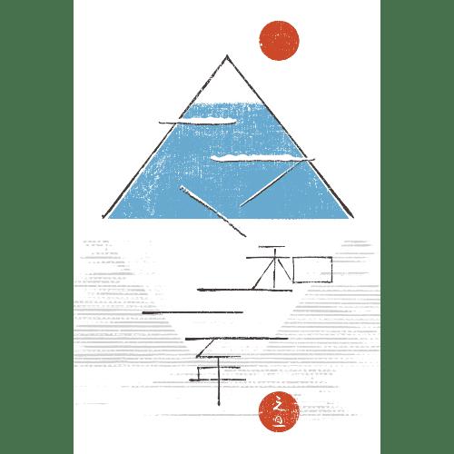 丑年2021年賀状のデザイン17-1
