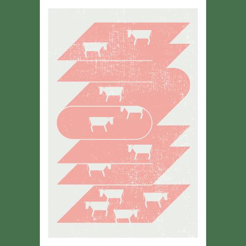 丑年2021年賀状のデザイン20-1