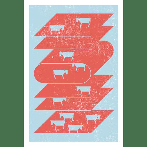 丑年2021年賀状のデザイン20-2