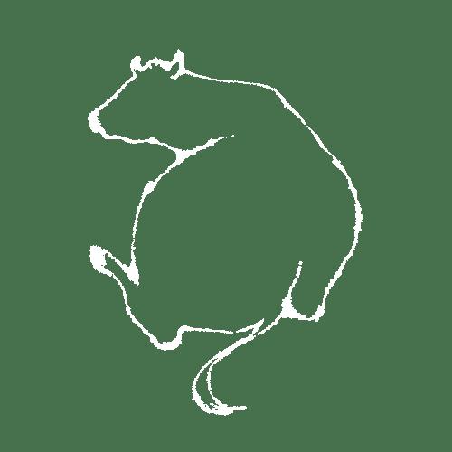 丑年2021年賀状のデザイン21-3