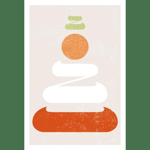 丑年2021年賀状のデザイン22-1