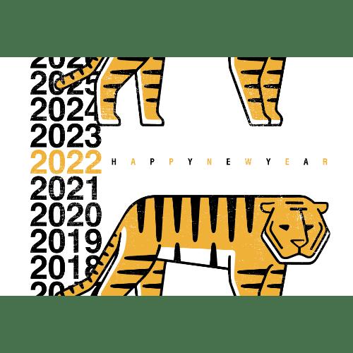 寅年2022年賀状のデザイン05-1