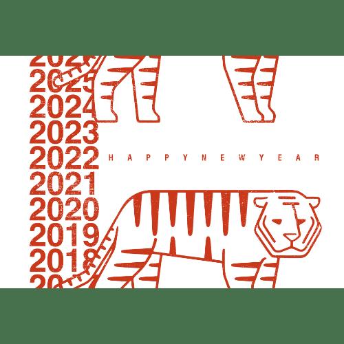 寅年2022年賀状のデザイン05-2
