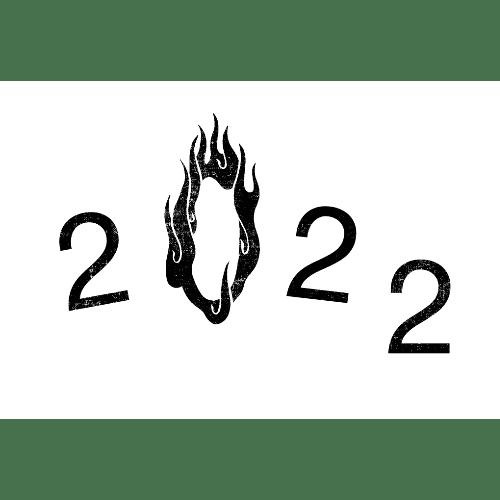 寅年2022年賀状のデザイン21−1