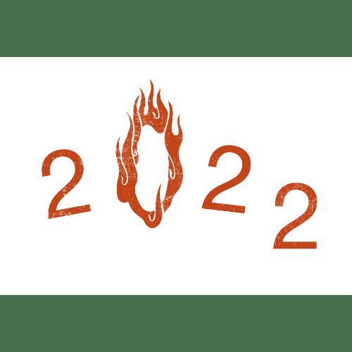 寅年2022年賀状のデザイン21−2