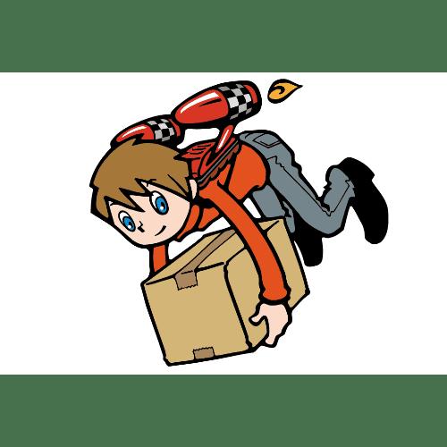 引っ越しのイラストレーション03