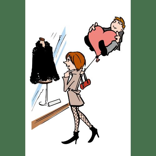 ポストカードのイラストレーション03