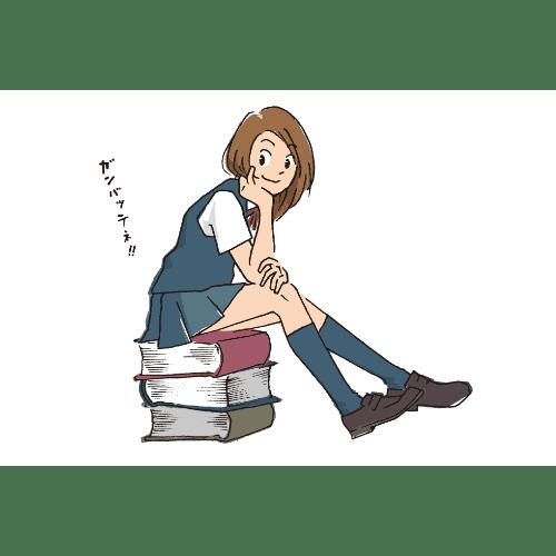 ポストカードのイラストレーション26