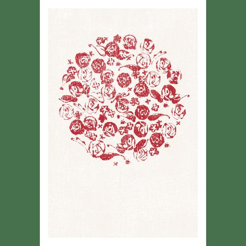ポストカードのイラストレーション31-1