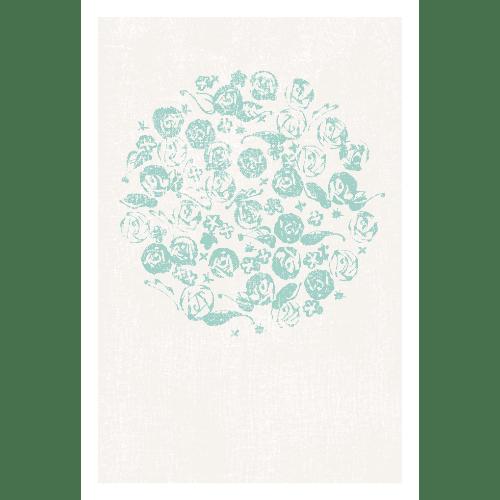 ポストカードのイラストレーション31-3