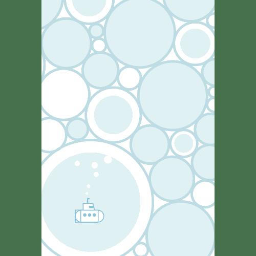 暑中見舞いのイラストレーション14