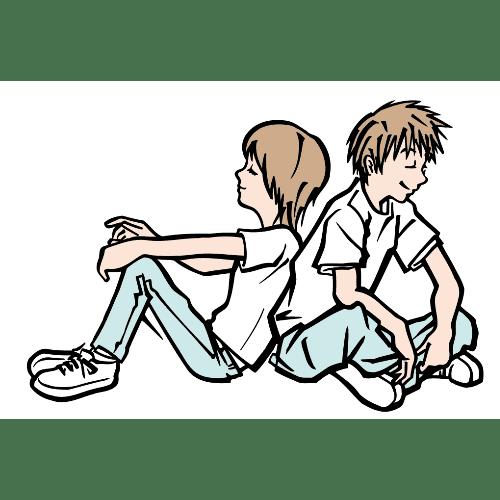 暑中見舞いのイラストレーション20