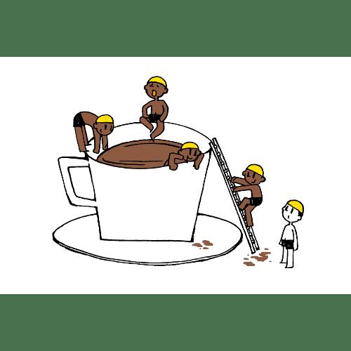 暑中見舞いのイラストレーション33