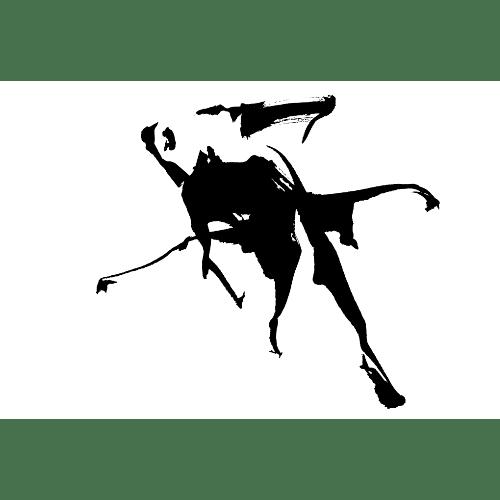 暑中見舞いのイラストレーション47-2