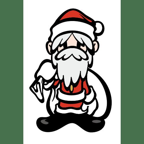 クリスマスのイラストレーション08