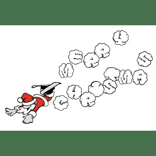 クリスマスのイラストレーション09